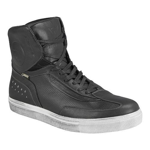Cliquez sur l'image pour la voir en taille réelle  Nom : dainese_street_runner_gore_tex_shoes_black_zoom.jpg Affichages :246 Taille :26,8 Ko ID : 75142